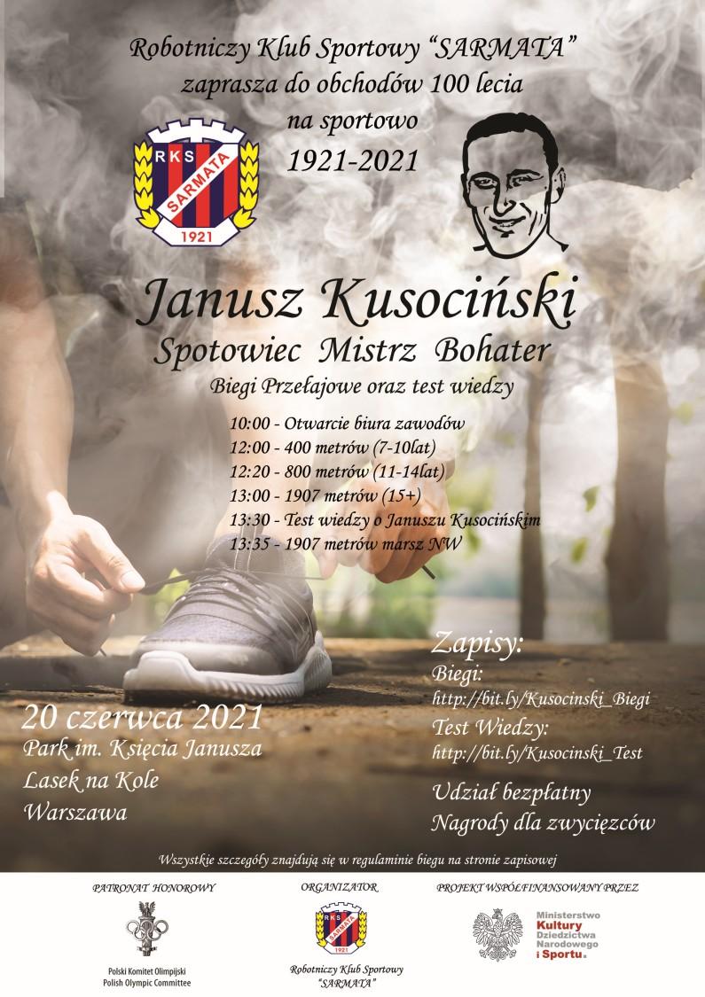 Janusz Kusociński Sportowiec, Mistrz, bohater
